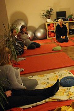 Geburtsvorbereitungskurs mit Gabriele Schnars Hebammenpraxis Dresden-West