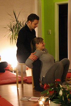 Übungen Geburtsvorbereitungskurs Hebammenpraxis Dresden-West