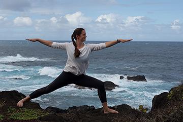 Yoga mit Sabine Kleinert Fels Figur